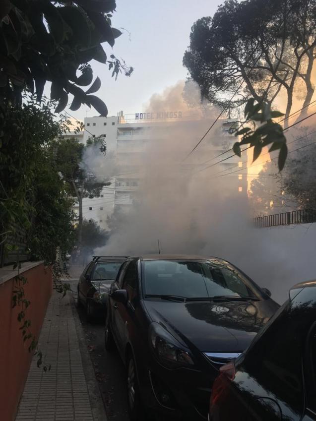 Fire Palmanova