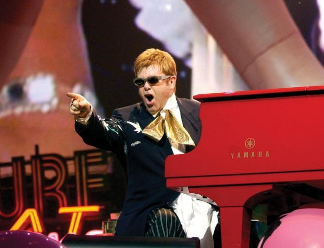 Elton John in Palma