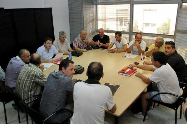 palma  tamib reunion comite empresa  emaya   foto morey