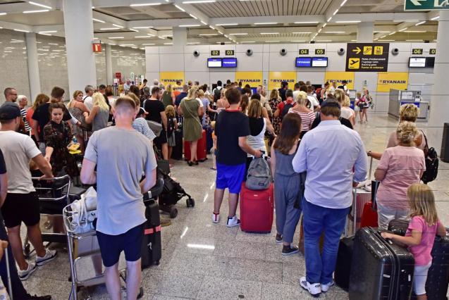 Strikes at Palma airport