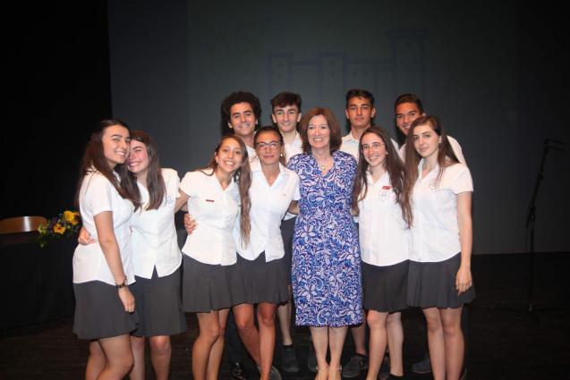 Pupils from Bellver International College