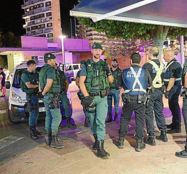 Guardia Civil are investigating