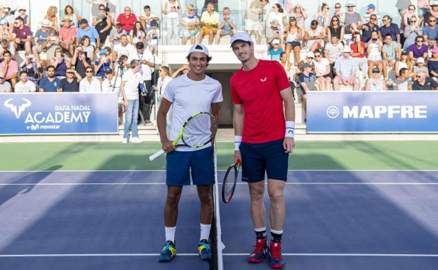 Imran Sibille and Andy Murray