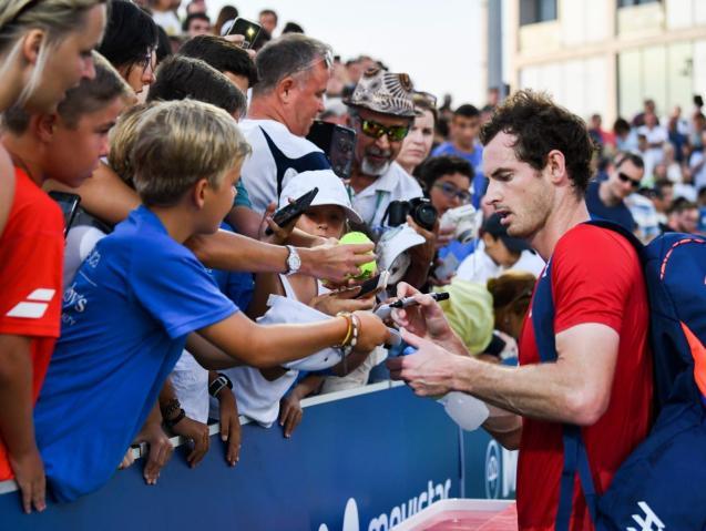 Andy Murray at Manacor