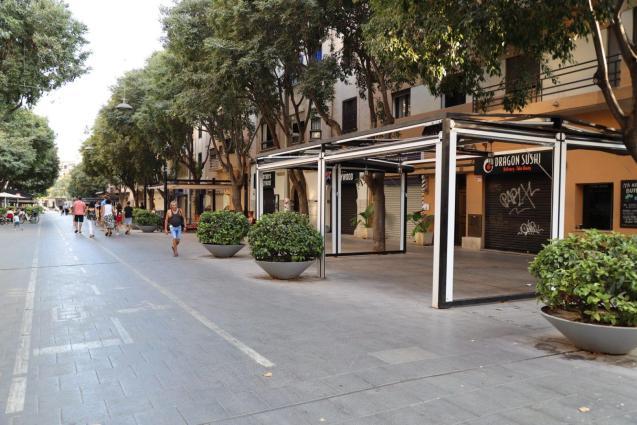 Dragon Sushi, Calle Blanquerna, Palma.