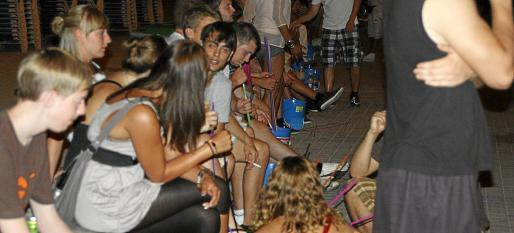 Botellon in Palma