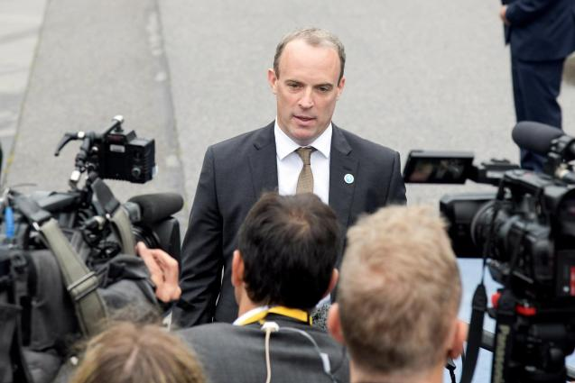 Dominic Raab, British Foreign Secretary