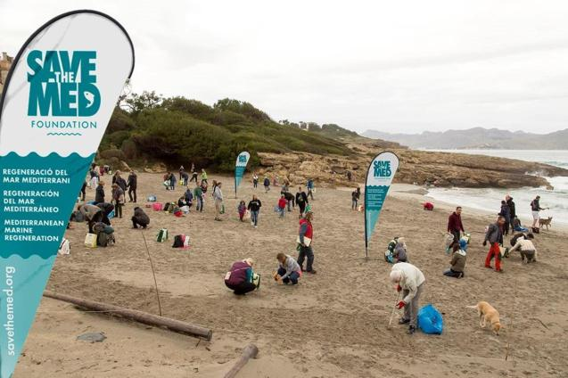 Save the Med beach clean up