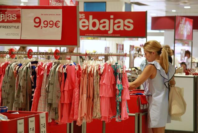 Summer sales in Palma