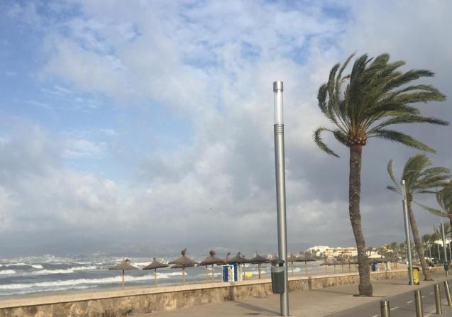 Ciudad Jardin beach in Palma.