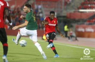 Baba in action for Real Mallorca.
