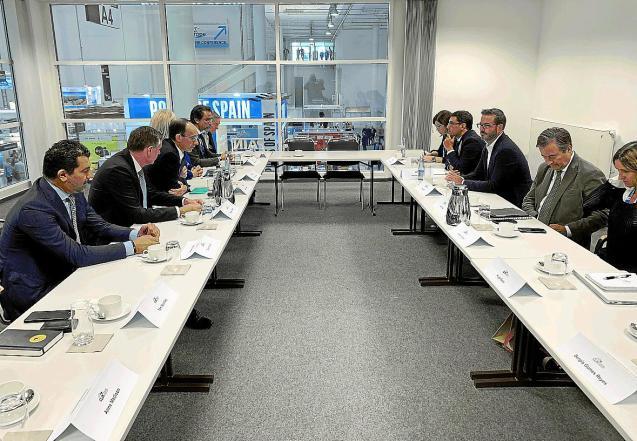 Talks in Hamburg