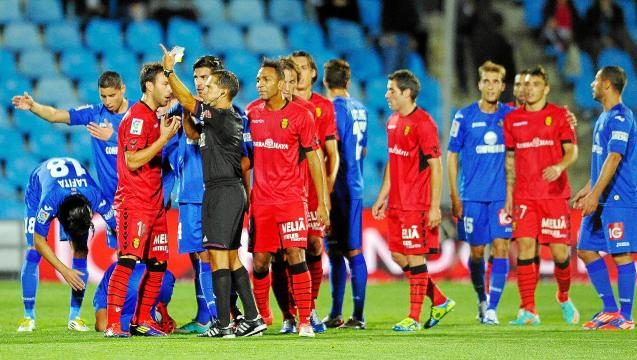 An incident from 2012 at Getafe, Mallorca losing 1-0.
