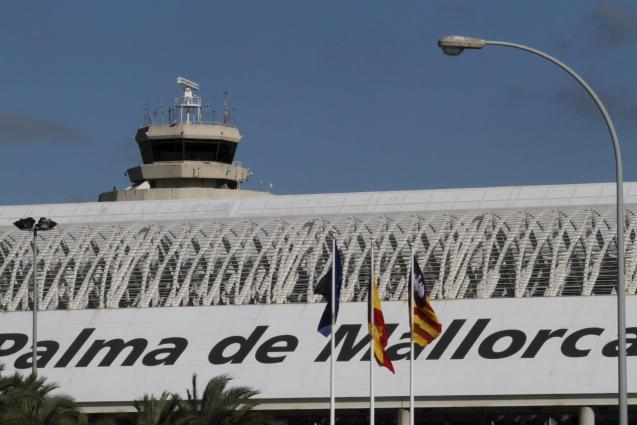 Son Sant Joan airport in Palma