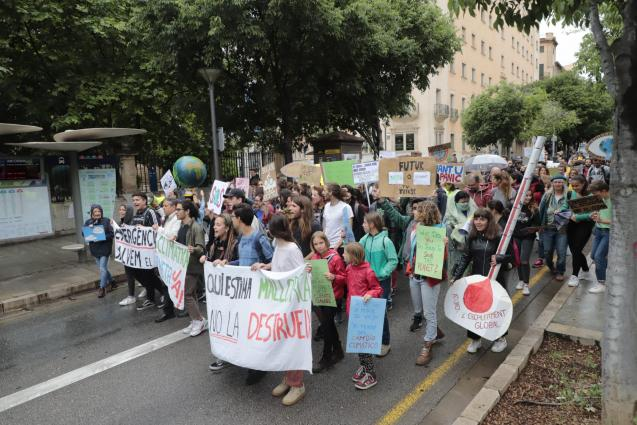 Friday climate strikes in Palma