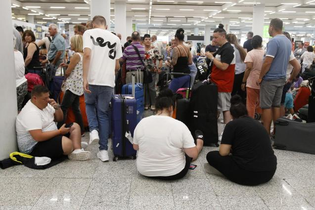 Passengers at Mallorca Airport