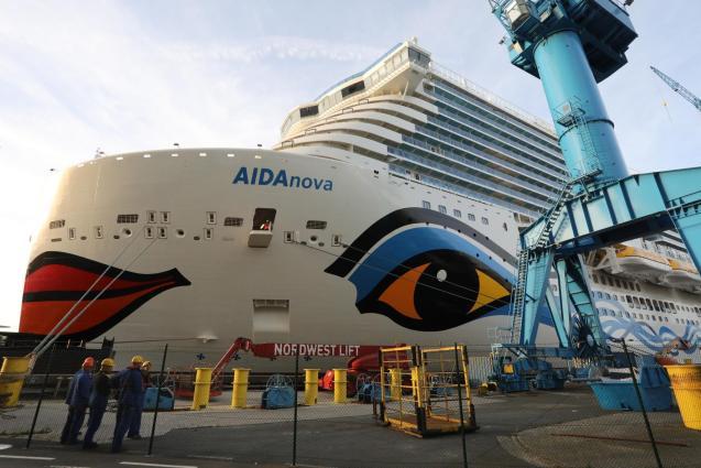 Cruise ships in Palma's port
