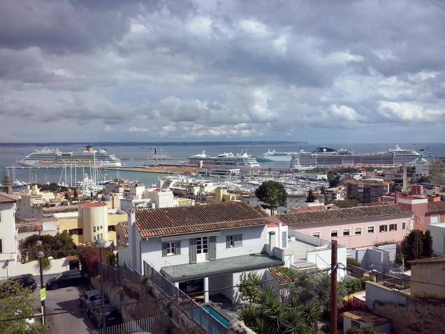 The port of Palma