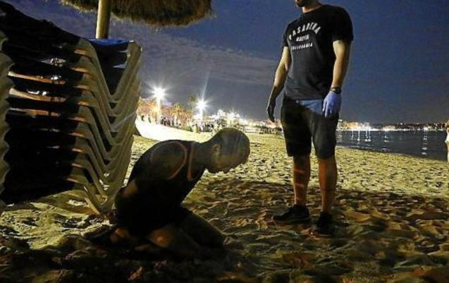 Arrest made at Playa de Palma