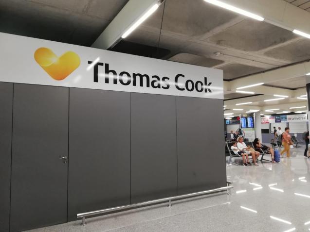 Thomas Cook office at Palma Airport