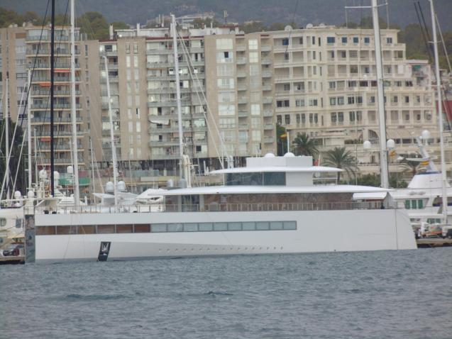 Megayacht Venus in Palma