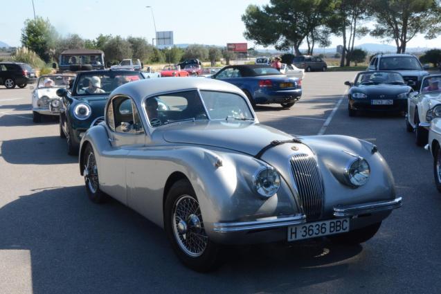 Jaguar XK Coupé.