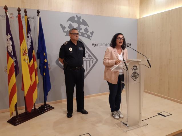 Public safety councillor, Joana Maria Adrover