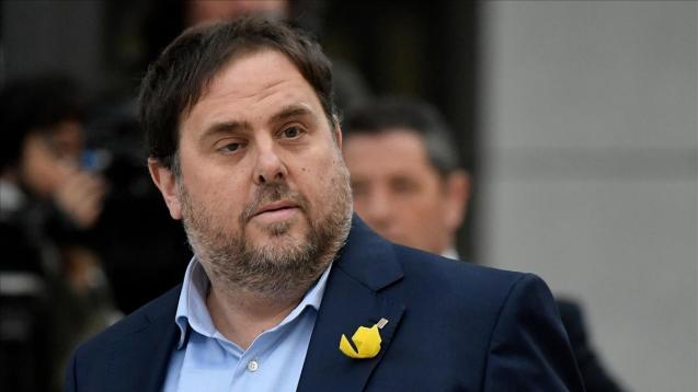 Former deputy leader of the regional government, Oriol Junqueras