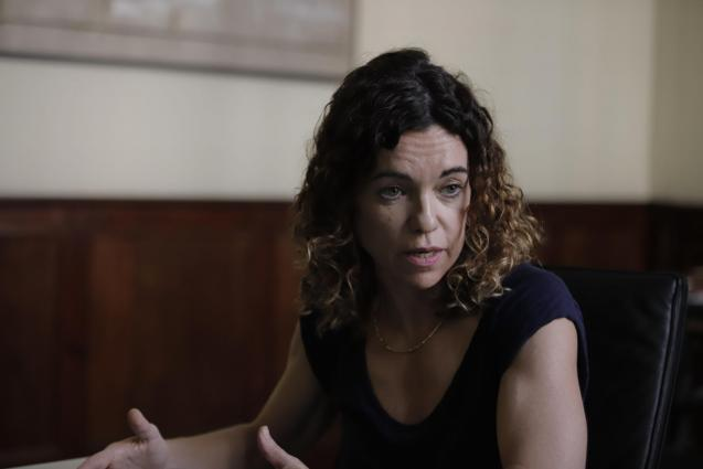 Rosario Sanchez, finance minister.