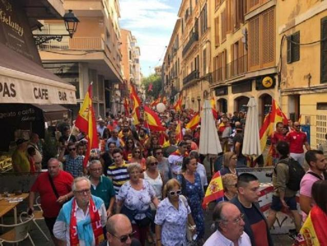 March today in Palma