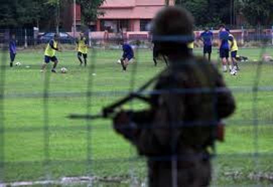 Footbal in Kashmir