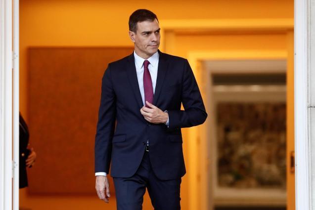 Pedro Sanchez, acting Prime Minister