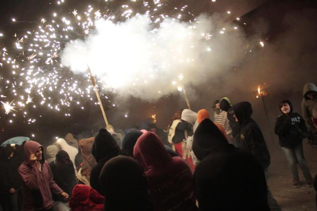 Correfoc in Consell