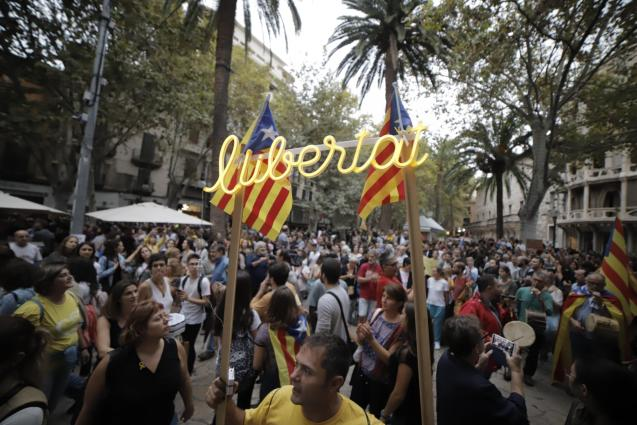 Yesterday's protest in Palma