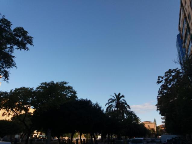 Blue skies return to Palma