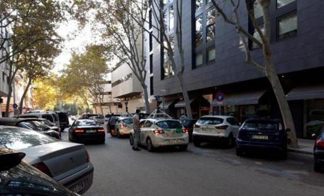 Google maps car in Palma