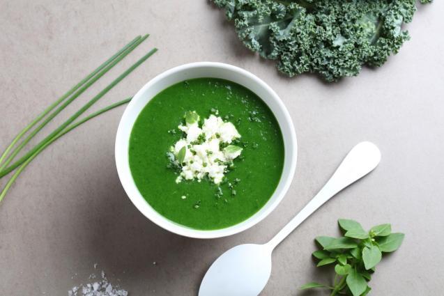 Kale & Fresh Herb Soup