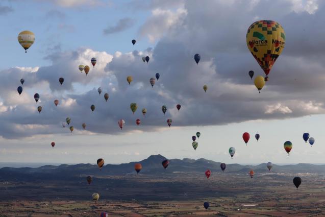 Hot Air Balloons over Majorca