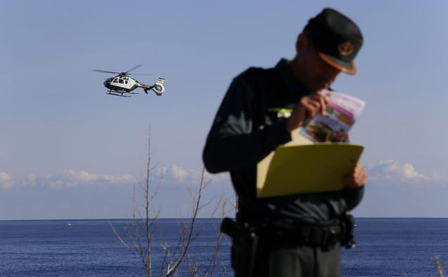 Third day of the search at Cala Esmeralda