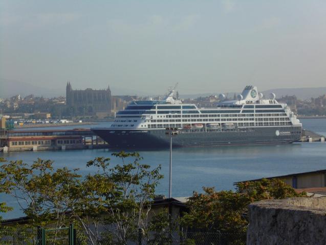Cruise ship in Palma