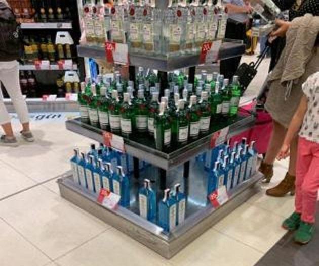Duty Free Shop at Palma Airport