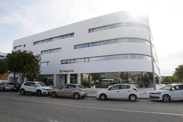 Thomas Cook offices in Palma