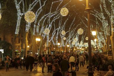 Christmas lights will be turned on November.