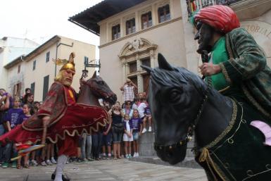 The bigheads called S'Estol Rei en Jaume in Alcudia.