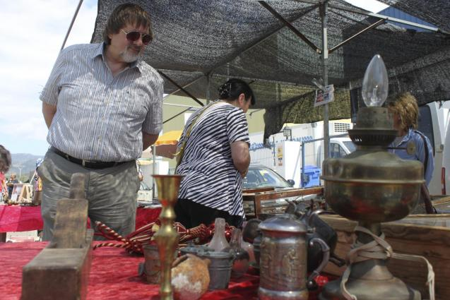 Flea market at Consell
