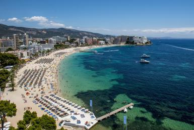 Magaluf is one of the Britain's favorite holiday destinations popular with sun, beach and clubbers alike.