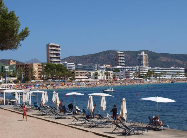 Magaluf sea front