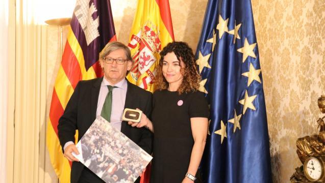 Vicenç Thomas and Rosario Sanchez