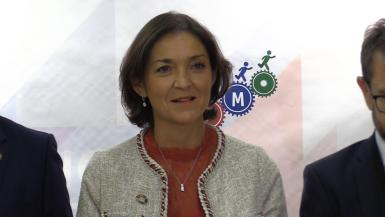 Reyes Maroto, the national minister for industry, trade and tourism.
