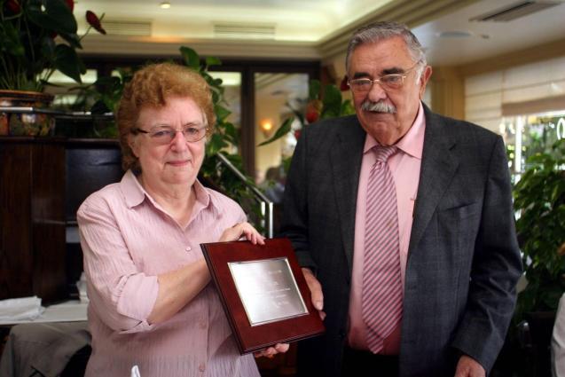 Irene Taylor and Pedro A Serra Bauzá, MBE